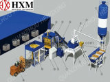 Hot Sale Automatical Hollow Concrete Block Machine