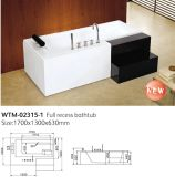 New Product Freestanding Cupc Bathtubs with Step (WTM-02315-1)