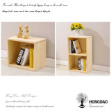 Hongdao Custom Small Wall Hanging Wooden Bookshelves Wholesale_L