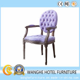 Banquet Dining Room Furniture Purple Weding Chair