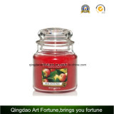 Yankee Style Glass Jar with Glass Pressed Lids for Home Decor.