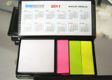 PU Leather Case Sticky Note with Calendar