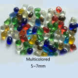 Colorful Transparent Glass Beads for Decoration