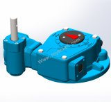 Rhw75s Part Turn Worm Gearbox for Valves