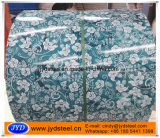 Prepainted Steel Coil with Flower Pattern Design