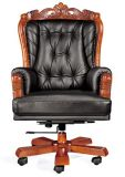 Baroque Style Luxurious Rotative Office Supervisor Chair