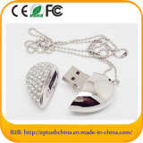 Heart Diamond USB Pendrive with Chain (ES620)