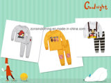 Cartoon Patterned Children Cute Home Wear Suits T-Shirt