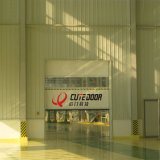 High Speed Aluminum Fast Plastic Horizontal Roller Shutter Door