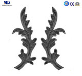 High Quality Ornamental Parts Wrought Iron Spear Head