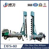 Engineer Large Diameter Holes Used Long Auger Drill Rig