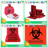 Plastic Custom Medical Waste Bag with Biohazard Printing