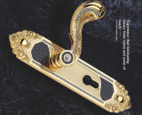 Middle Size Zinc Alloy Mortise Handle Lock (6W03 W01)