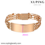75027 Xuping Mens Gold Bracelet Designs Wholesale Environmental Copper Alloy Watch Bracelet