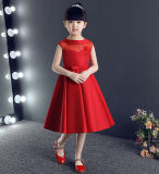 Knee Length Children Dress for Party