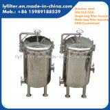 304/316L Stainless Steel Multi Bag Filter Housing Used for Fruit Juice/Beverage Filtration
