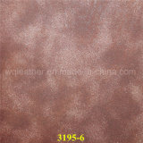 Fashion PU Synthetic Leather Fabrics with Pearl Effect