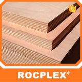 Rocplex Okoume Plywood 3mm-28mm, Plastic Construction Board 15mm, Wood Slab Shutters, Plywood for Construction Moulding