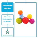 Customized Silicone Rubber Baby Early Education Touch Perception Ball Grasping Toy Ball