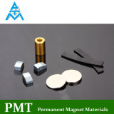 D6*D3*15 Permanent SmCo Magnet with Plating