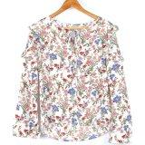 Spring Women Clothes Wholesale Fashion Bandage Lady Blouse & Top