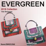New Style Color Collision Hand Bag Genuine Leather Handbag Crocodile Handbags Ladies Shoulder Bags Fashion Handbag Designer Hand Bag Leather Bags Emg5266