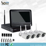 10 Inch Screen NVR Kits + 1.3MP Wireless CCTV Systems