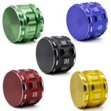 63mm 4 Layers CNC Teeth Aluminum Polygon with Sharp Pattern Herb Grinder