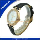 Postar Watch Fashion Leather Band Miyota Quartz Round King Watch