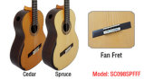 Aiersi Custom Made Fan Fret Smallman Classical Guitar (SC098SPFFF)
