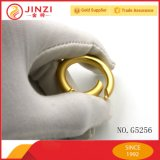 Newest Fashionable Bag Hardware Accessories Pear Gold Color Spring Open Ring