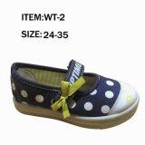 Latest Design Children Canvas Shoes Dance Shoes (WT-2)