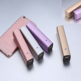 2600mAh New Lipstick Shape Power Bank Mobile Phone Accessories