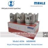 Mahle 6D34t 6D34 Me088990 Piston for Sk230-6 Excavator