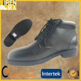 Black Genuine Leather Hot Sale Military Police Office Shoes