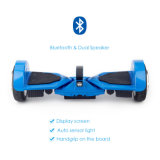 Patent Innovative 7.5 Inch 2 Wheel Electric Hoverboard with Self Induction LED Headlamp