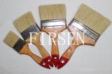 Bristle Brush with Wood Handle