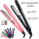 Hot Selling Hair Straightener with Interchangeable Plates