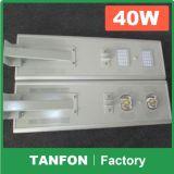 2017 New Design Integrated 20W/30W Solar LED Street Light USA Lamp