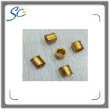 Laser Number Logo Printing Gold Color Metal Bird Ring