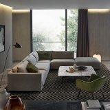 L Shape Gray Modern Sofa Chaise (F629-8-1)