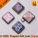 Custom Dome Swivel Square USB Flash Drive for Smart Gifts (YT-Square)