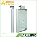 New 20W 5 Years Warranty Life Po4 battery LED Light High Temperature Resistance Integrated Solar Lamp