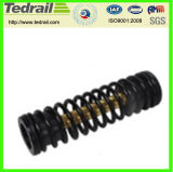 Nickel Alloy Industrial Railway Coil Spring with High Durability