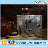 Wholesale Hotel Furniture Vintage Antique Silver Storage Cabinet