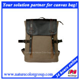 Leisure Casual Canvas Backpack for Student and Campus