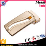 New Men's Automatic Gold Alloy Belt Buckle for Leather
