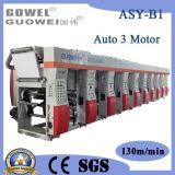 3 Motor Computer Control Rotogravure Printing Machine for Plastic Film
