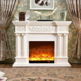 Ce Approved Home Furniture 3D LED sculpture Electrical Fireplace (320S)