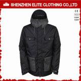Black Thermal Winter Ski Jackets Men Waterproof (ELTSNBJI-57)